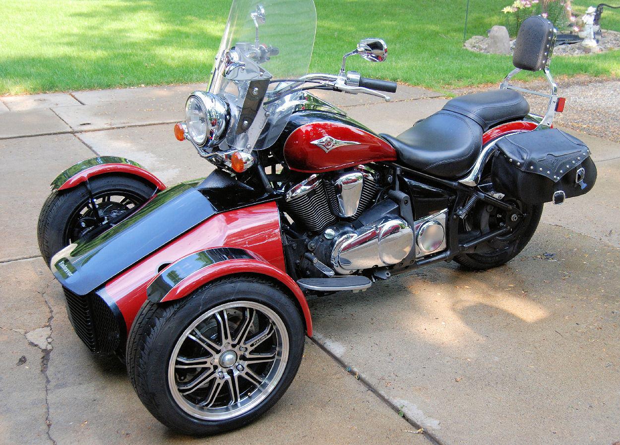 reverse trike club street legal quads. Black Bedroom Furniture Sets. Home Design Ideas